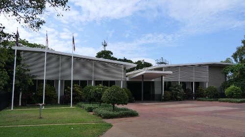 イーストポイントにある戦争博物館