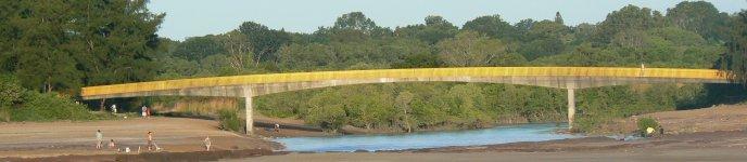 ラピッドクリーク歩道橋