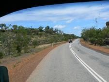 ダーウィンから60km南下したStuart Hiwayからの眺め