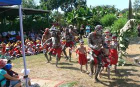 アボリジニ(先住民)による伝統的なダンス