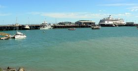 ダーウィンの港、Wharf