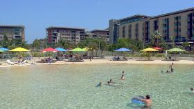 Darwin Waterfront Beach